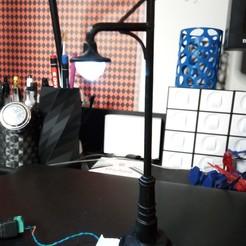 Télécharger modèle 3D gratuit Lampe G avec leds et aimants, KLMT3Dprint