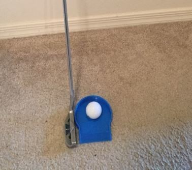 Golf cup with ball.JPG Download STL file Golf cup • 3D printing template, Joe_Shmoe