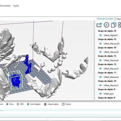 AllElements.JPG Télécharger fichier STL Naruto Six Paths • Objet pour imprimante 3D, Willerson