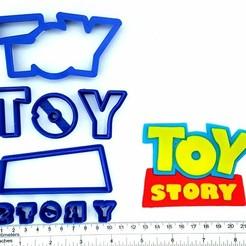 Télécharger fichier imprimante 3D Logo de l'histoire des jouets Ensemble de coupe fondante, ivonbm
