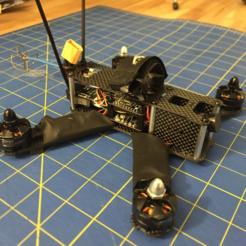 Free 3D model D4R-II Mount QAV210 / Crazypony H210, bromego