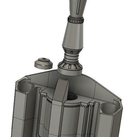 Free 3d printer designs Boba Fett Jet Pack Full Size, bromego