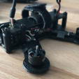 Download free STL file QAV-M 110 Micro Quad FT Gremlin Frame • 3D printer object, bromego
