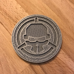 Free STL file Rotor Riot Coaster, bromego