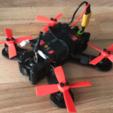 Free 3D printer file QAV-M 110 Micro Quad FT Gremlin Frame, bromego