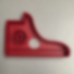 Download free STL files Converse Shoe Cookie Cutter, bromego
