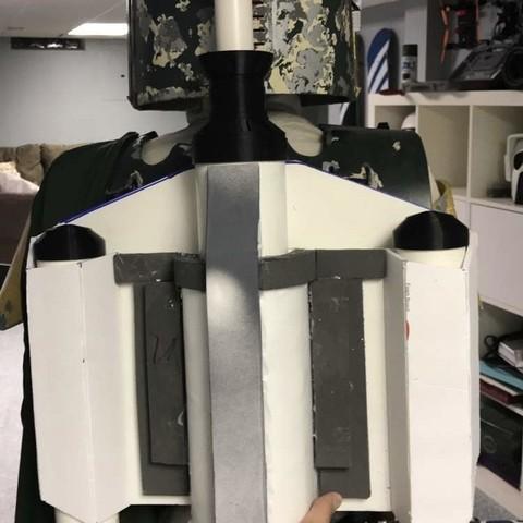 Télécharger fichier imprimante 3D gratuit Boba Fett Rocket Rocket Jet Pack, bromego