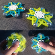 Download free 3D printer model Atom Shaped Fidget Spinner, 87squirrels