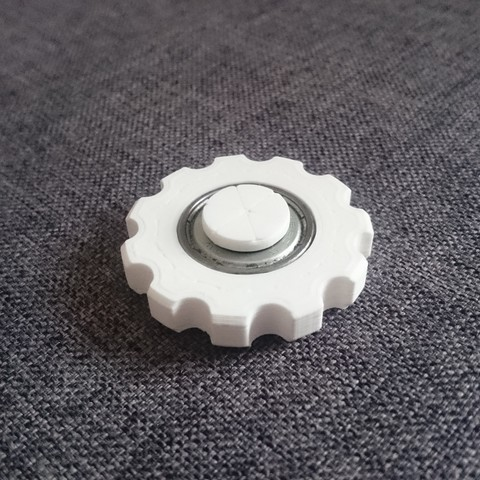 Download free STL file Mini Gearshape Hand Spinner • Object to 3D print, 87squirrels