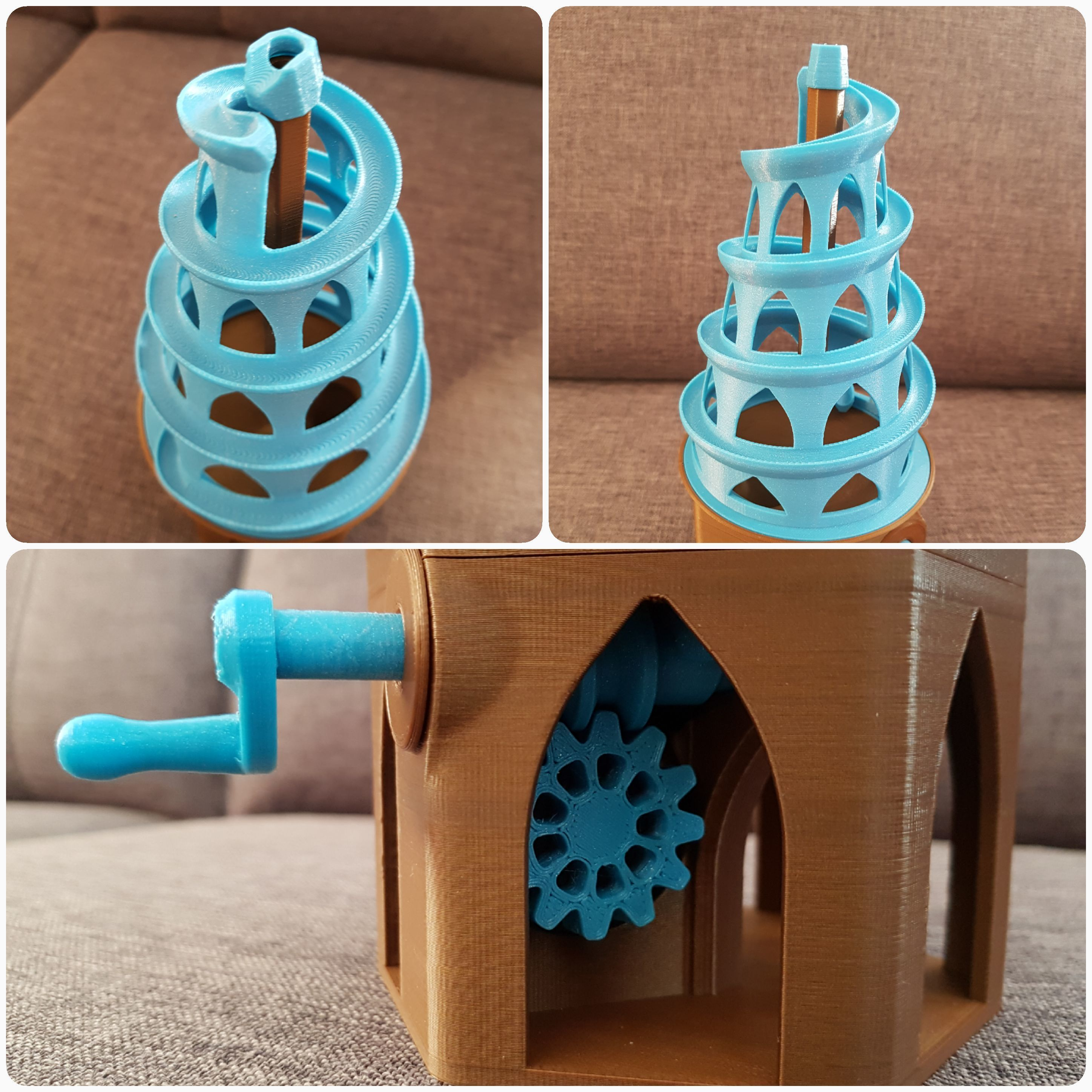 20180326_203627.jpg Download free STL file 6mm Marble Machine • Model to 3D print, 87squirrels