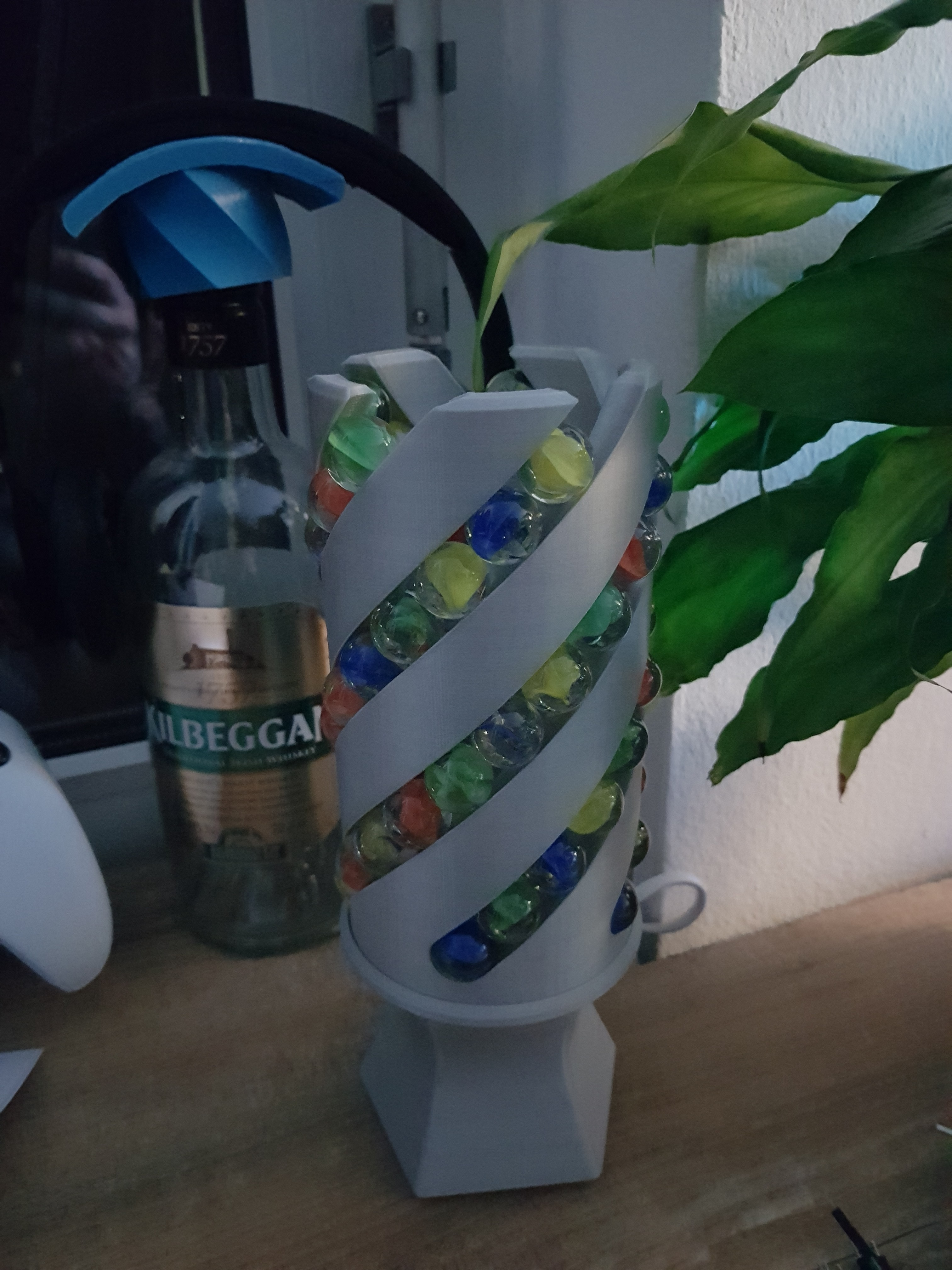 20180208_175758.jpg Download free STL file Marble Desk Lamp • Model to 3D print, 87squirrels