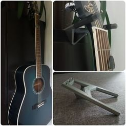 Free STL file Cabinet Guitar Mount, 87squirrels