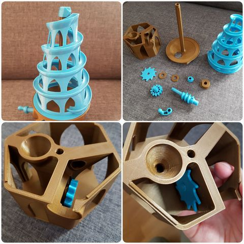 20180326_203338.jpg Download free STL file 6mm Marble Machine • Model to 3D print, 87squirrels