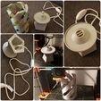 20180206_184854.jpg Download free STL file Marble Desk Lamp • Model to 3D print, 87squirrels