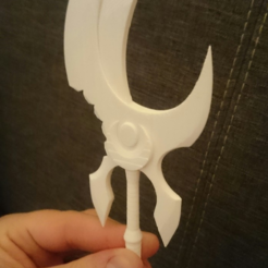 Capture d'écran 2017-06-02 à 15.06.07.png Download free STL file WoW Bloodmoon Axe • 3D printing template, 87squirrels