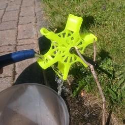 Modelos 3D gratis Rueda de agua, 87squirrels