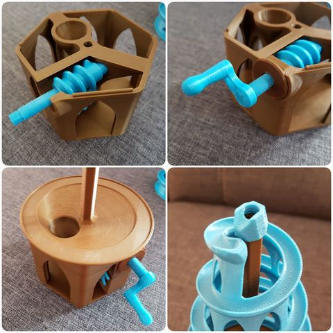 20180326_203420.jpg Download free STL file 6mm Marble Machine • Model to 3D print, 87squirrels
