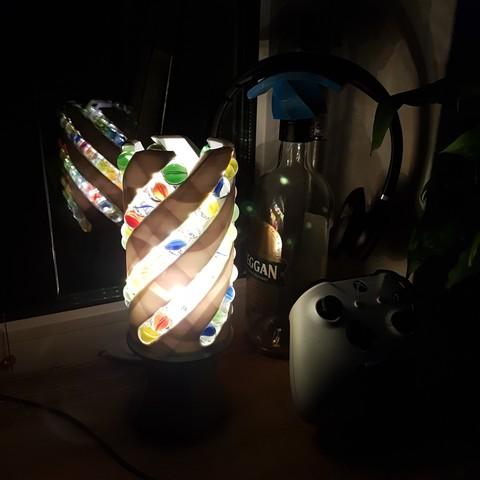 20180206_174956.jpg Download free STL file Marble Desk Lamp • Model to 3D print, 87squirrels