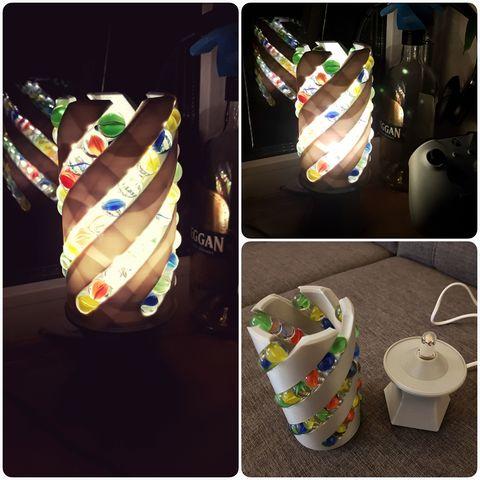 20180206_175109.jpg Download free STL file Marble Desk Lamp • Model to 3D print, 87squirrels