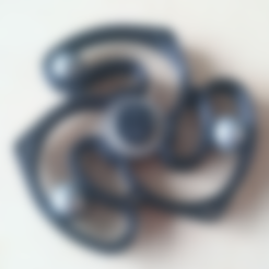Download free 3D printer files Ball Track Hand Spinner, 87squirrels