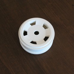Free 3D file Wheel rc Car 1:8 scale, Merioz3D