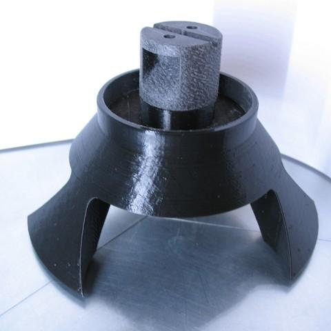 spacelamp_2.jpg Download free STL file Spacelamp • 3D printable object, Merioz3D