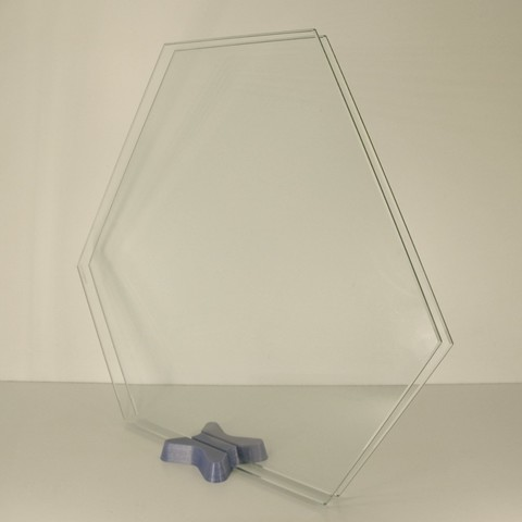 Free 3D printer designs glass bed stand, Merioz3D