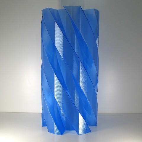 3d Printing Spiral Helix Vase Cults