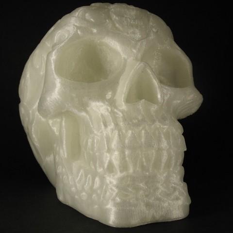 Descargar diseños 3D gratis Celtic Skull, Merioz3D