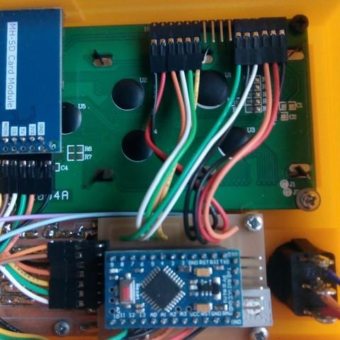 GRBL + SD card + LCD screen + Keyboard