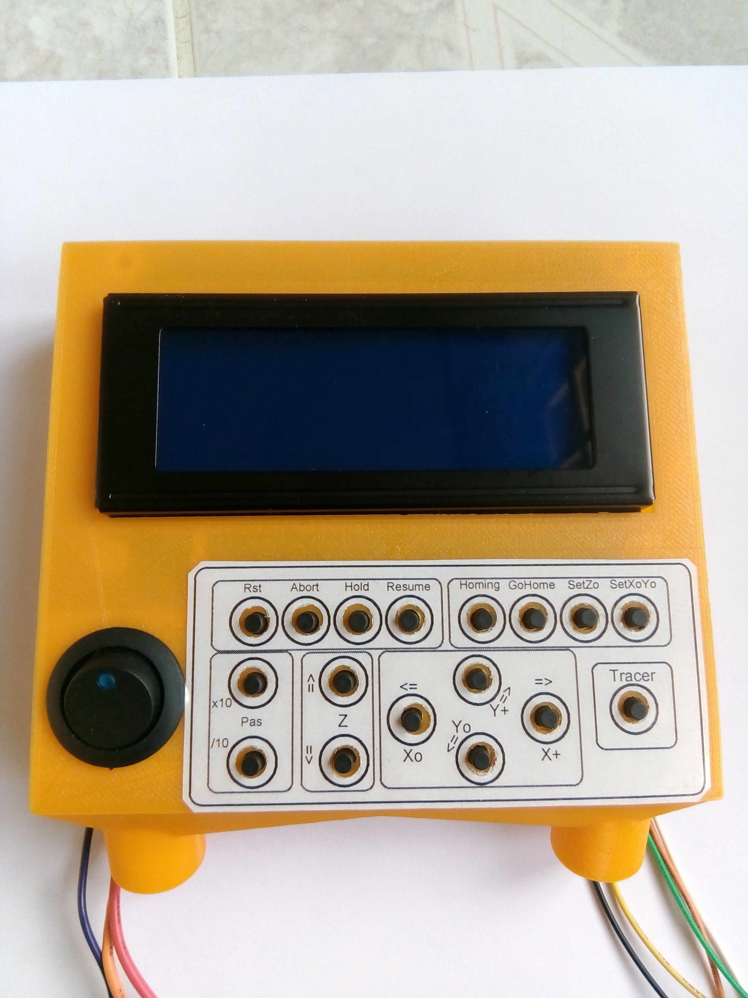 facade.jpg Download free STL file CNC milling machine with LCD screen and SD card reader Firmware Marlin or GRBL • 3D printer template, jpwild