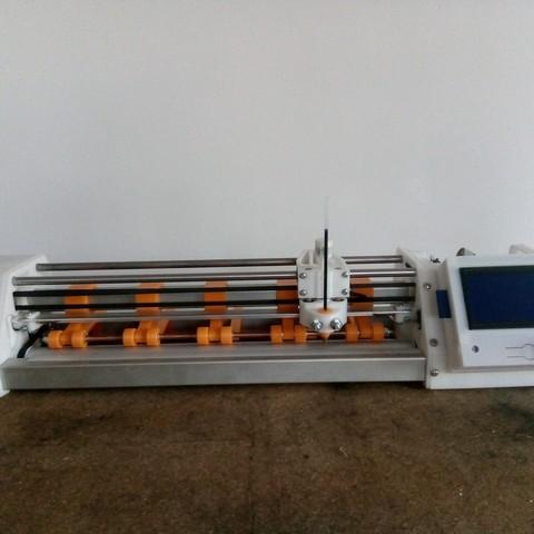 Cutting Plotter or plotter width 310mm marlin or GRBL