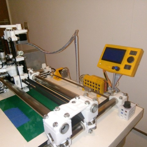 002.jpg Download free STL file CNC milling machine with LCD screen and SD card reader Firmware Marlin or GRBL • 3D printer template, jpwild