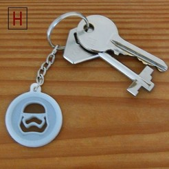 3d model Stormtrooper key fob, HorizonLab