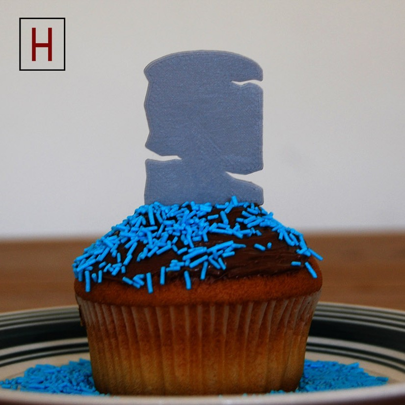 Cults - Topper - Rip 2 logo.jpg Download STL file Night of the living muffins • 3D printing object, InSpace