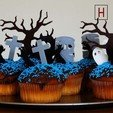 Night of the living muffins - Tree 3D printer file, HorizonLab