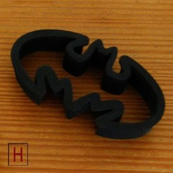 3D printer file Cookies cutter - Batman, HorizonLab