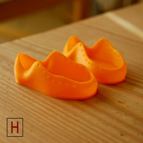 Download free 3D printing models Baby shoes ・ Cults