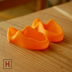 Download free 3D printing models Baby shoes, HorizonLab