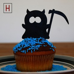 3D print model Night of the living muffins - Little reaper (South Park), HorizonLab