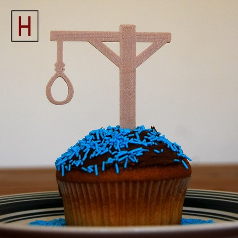 Cults - Topper - Hanger logo.jpg Download STL file Night of the living muffins • 3D printing object, InSpace