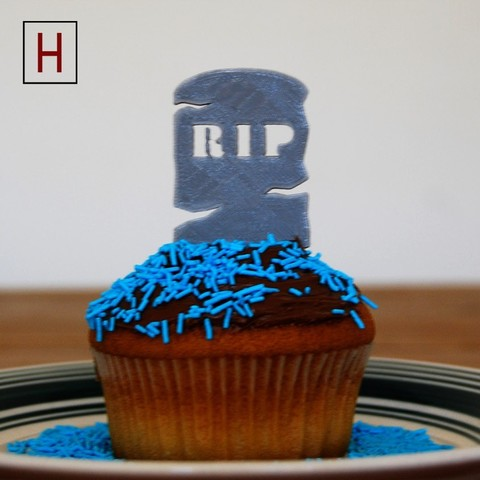 3d printer model Night of the living muffins - RIP 1, HorizonLab