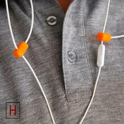 Free STL Earphones holder, HorizonLab