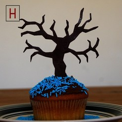 3D print files Night of the living muffins - Tree, HorizonLab