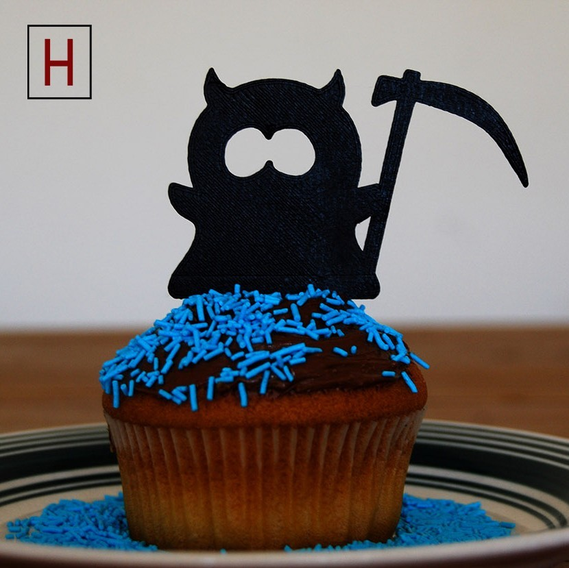 Cults - Topper - Reaper logo.jpg Download STL file Night of the living muffins • 3D printing object, InSpace