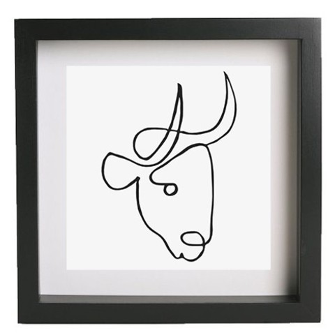3d printer model Wall art - Picasso - Bull, HorizonLab