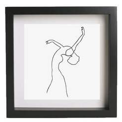 Free 3D printer designs Wall art - Picasso - Woman 2, HorizonLab
