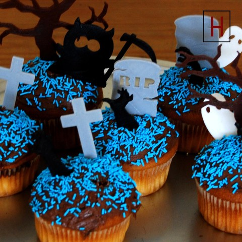 Cults - Night of the living muffins 2.jpg Download STL file Night of the living muffins • 3D printing object, InSpace