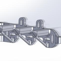 Impresiones 3D gratis Percha Modular, G_Pandu