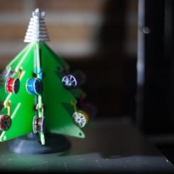 _MG_6368.jpg Download free STL file Christmas Tree 3D Printing Style • 3D printer model, JordanHogetoorn